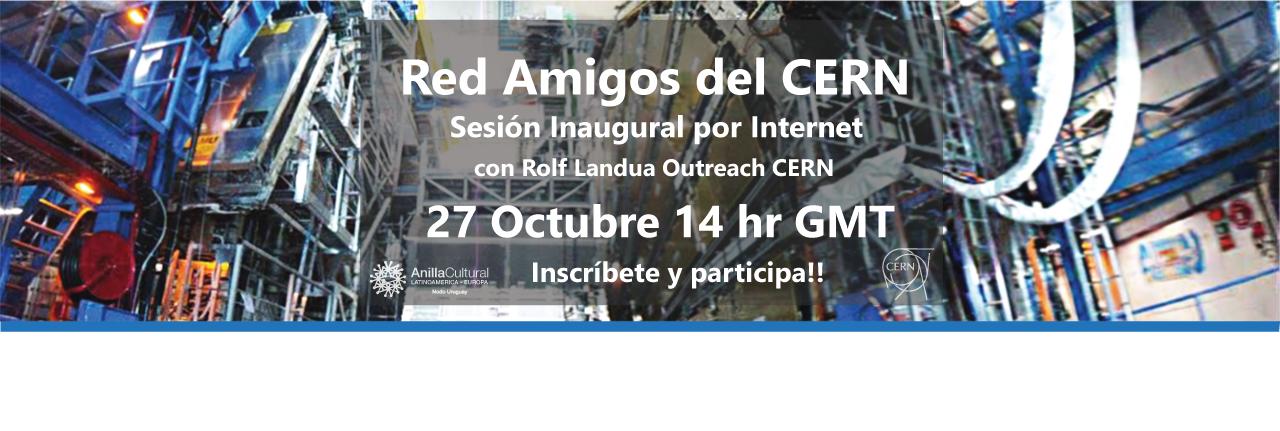 Afiche Red Amigos CERN