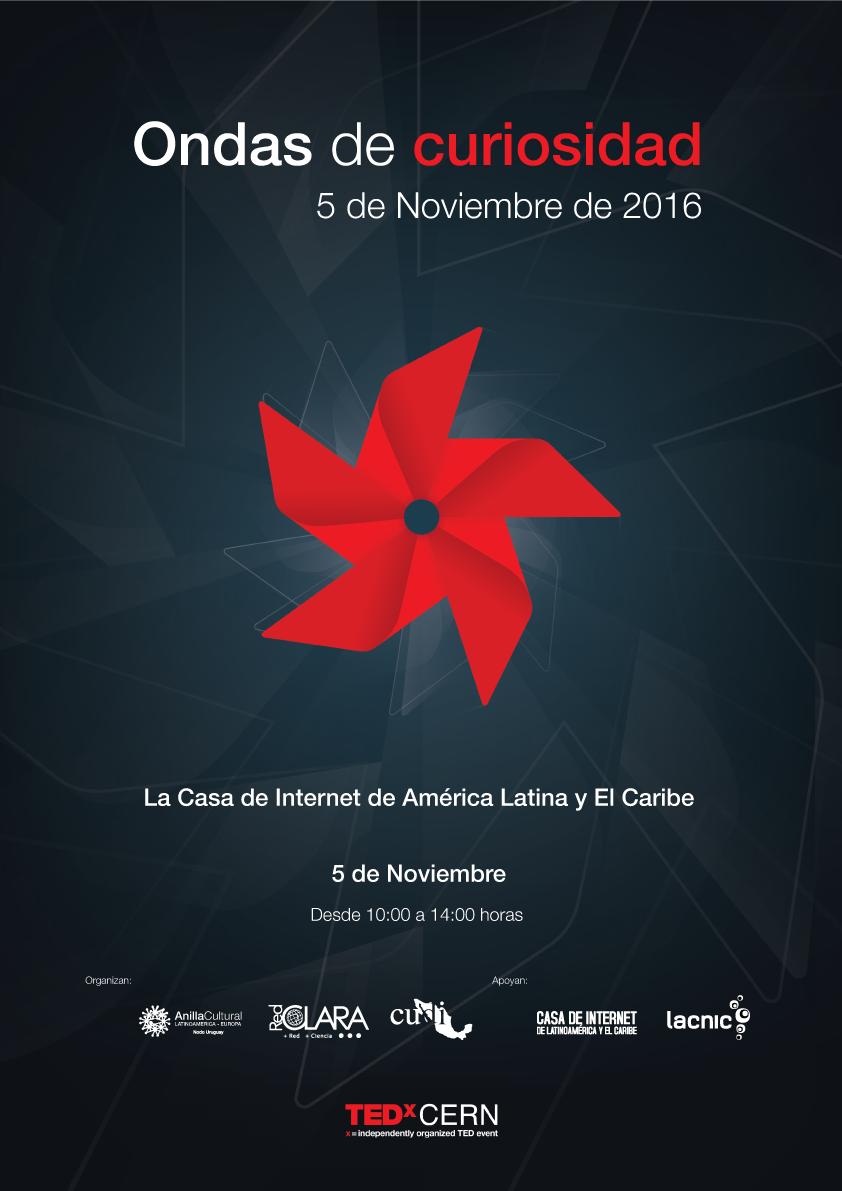 Afiche TEDxCERN