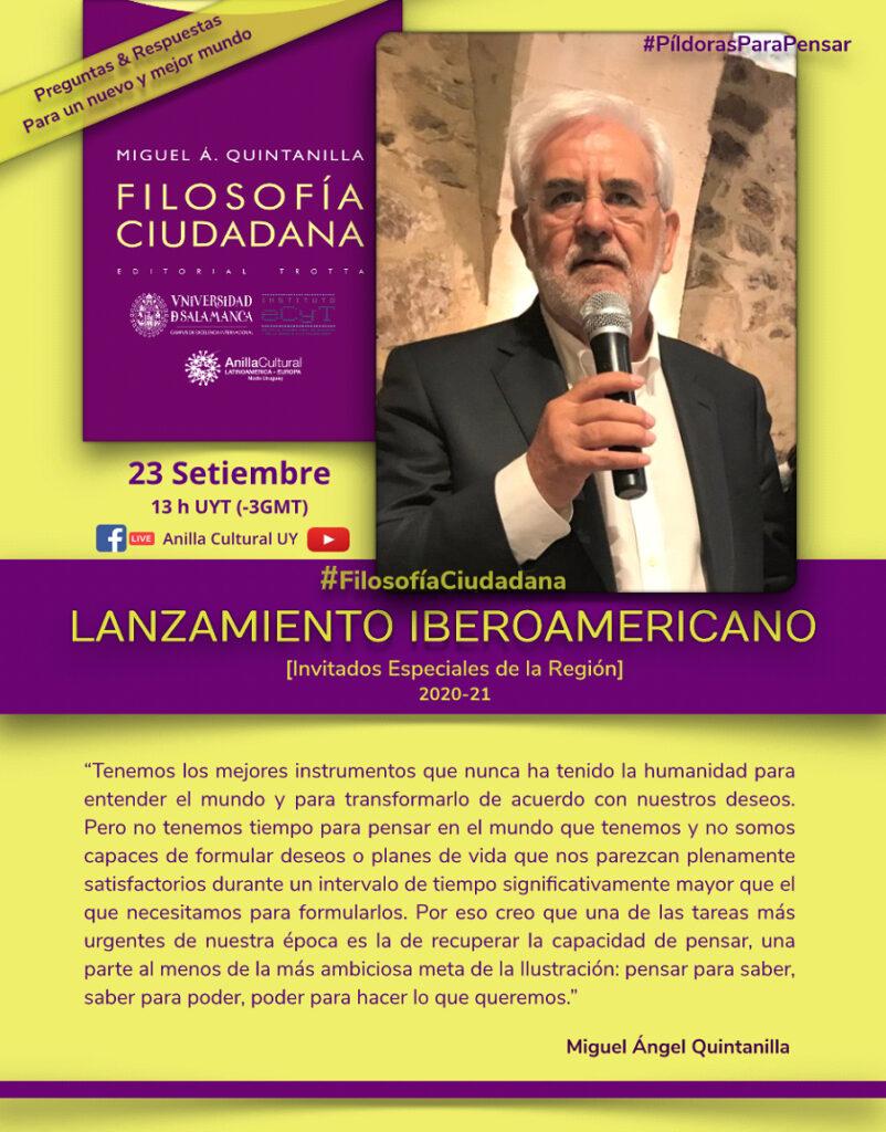 Afiche Filosofía ciudadana