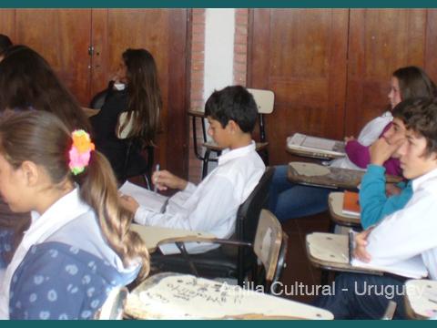 La Kamera en Red - Alumnos del Liceo 2 de Chuy 1