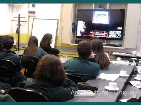 La Kamera en Red - Alumnos del Liceo 29 de Montevideo 1