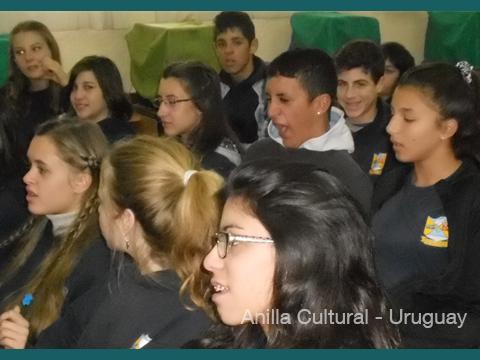 La Kamera en Red - Alumnos de tercer año del Liceo de Atlántida