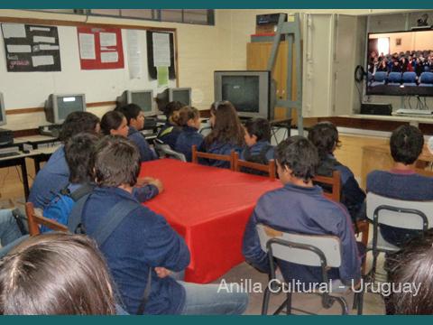 La Kamera en Red - Alumnos del Liceo de San Gregorio de  Polanco 1